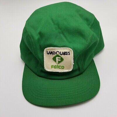 Vintage Mesh Hat Vintage Patch Hat Trucker Hat Men Vintage Land O Lakes Felco Trucker Hat K-Brand Ear Flap Patch Fitted Size 7 USA