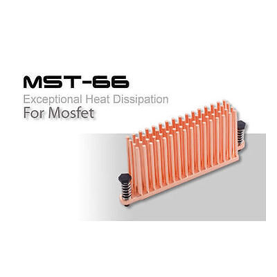 MOS-C10-LE ENZO TECH Forged Copper Heat Dissipation MOSFET Heatsink 10pcs