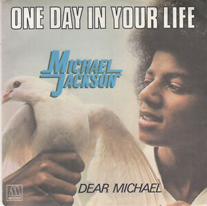MICHAEL-JACKSON-Motown-101521-One-Day-in-Your-Life-VG-PS-only-French