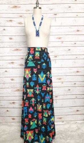 tribale Taglia Gonna senza spalline Lularoe Taglie stampa S Multicolore Made In con Maxi Usa 417rYqw1