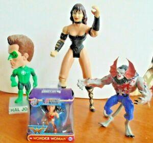 Marvel Dc Action Figure/statue Lot Xena Morbius Wonder Woman Green Lantern-afficher Le Titre D'origine