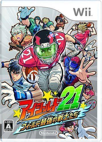 Used Wii Eyeshield 21  Nintendo JAPAN JP JAPANESE JAPONAIS IMPORT