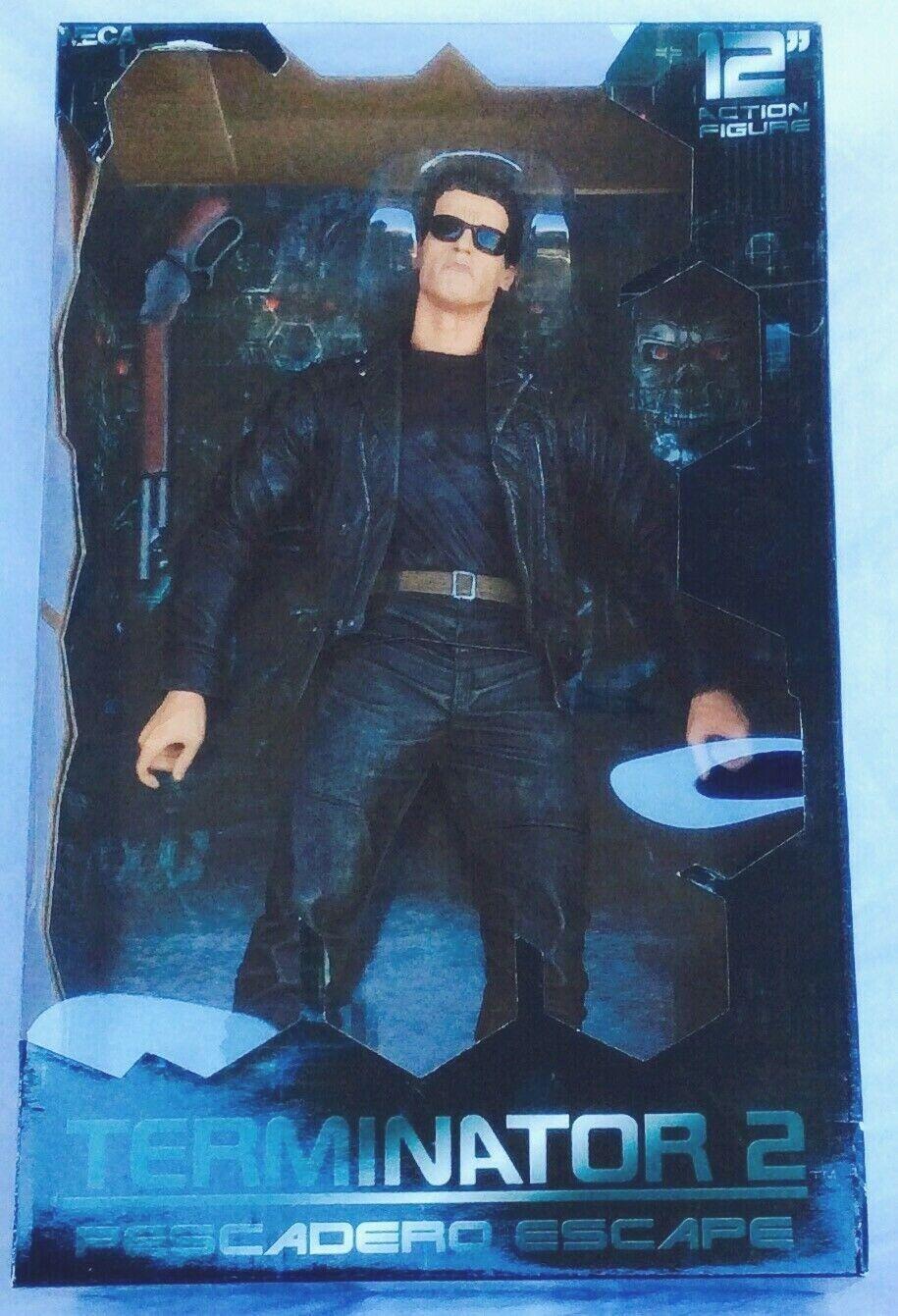 12  GRANDES _ Neca Figure Terminator 2-T-800 _ Bran New _ Pesero Escape _ Judgement Day