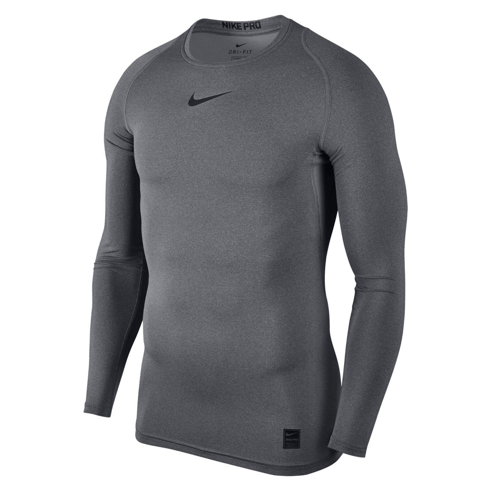 0cc92454 Nike Pro Combat 2.0 Men's Compression Long Sleeve Dri-fit Shirt L ...