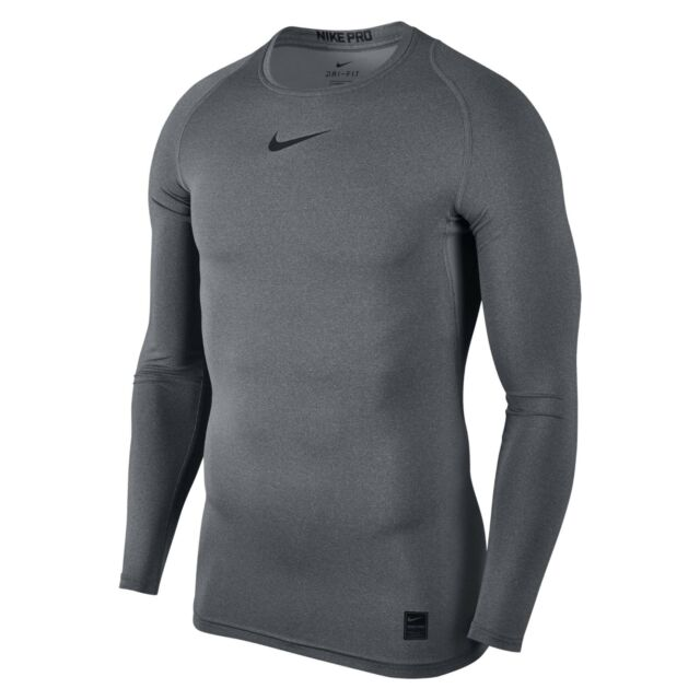 65eb1261 Nike Pro Combat 2.0 Men's Compression Long Sleeve Dri-fit Shirt L Grey.  About this product. Picture 1 of 3; Picture 2 of 3; Picture 3 of 3. Picture  2 of 3