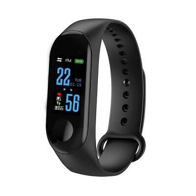 Fitness Tracker Smart Band Watch Bracelet Wristband BloodPressure HeartRate M3 v
