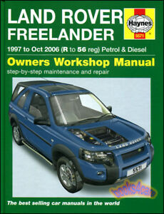 Diesel user user manuals book cars user manuals array freelander shop manual service repair land rover haynes chilton book rh ebay com fandeluxe Image collections