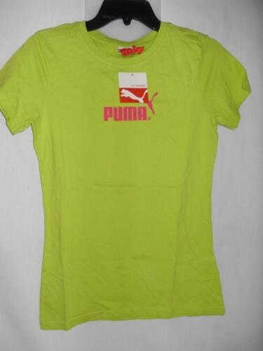 New Women/'s Puma Short Sleeve T-Shirts NWT 2 Styles! $22 Size S or M