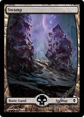 Land Zendikar Mtg Magic Basic Land 4x x4 4 PLAYED Swamp #238