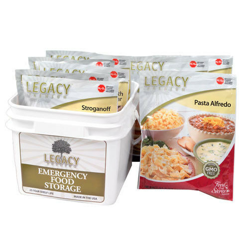 Legacy Premium 32 Serving Gluten Free 72 Hour Emergency Food Kit