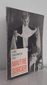 Las Secrets de La Maitre Involucrar A Demuestra Ediciones Capiepa 1968 París ABE