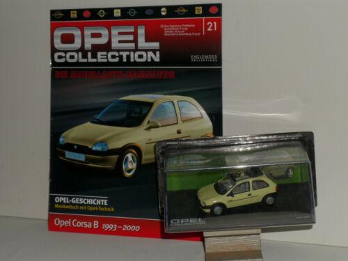 Opel Collection Eaglemoss Sammlung 1:43 neu mit Zeitung in OVP Auswahl 1-140 IXO
