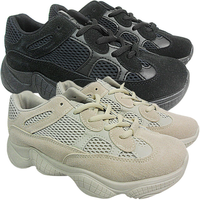 LADIES WOMENS PLATFORM TRAINERS RUNNING CHUNKY SUEDE CREEPERS SPORTS SHOES SIZES