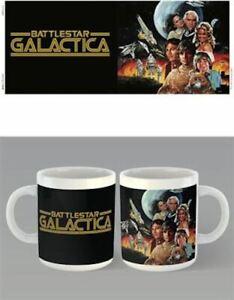 Battlestar-Galactica-Key-Art-1-Cast-Mug-x-2-BRAND-NEW-Set-of-2-Mugs