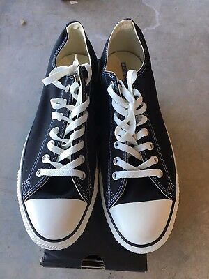 CONVERSE Chuck Taylor All Star Low Oxford Sneaker X9166 Black Size 11.5 15 NWD | eBay