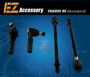 4-Tie-Rod-End-Inner-amp-Outer-Dodge-Ram-1500-2WD-4WD-02-05