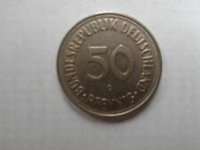 GERMANY 50 PFENNIG COIN 1950 in good condition