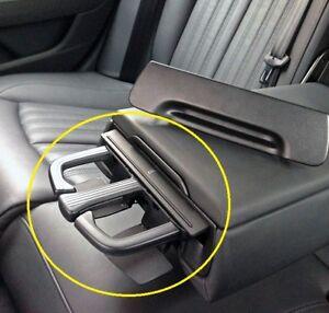 Genuine-Audi-A6-A7-11-16-Trasero-Apoyabrazos-Posavasos-Kit-de-actualizacion