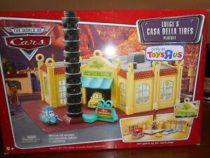 Les pneus de radiateur de Disney Pixar Cars Casa Della de Luigi, jouet original, neufs