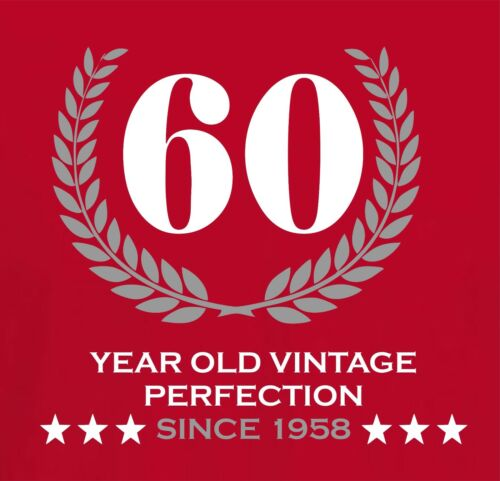 OR ANY YEAR 60 YEAR OLD VINTAGE PERFECTION 1959 Personalised Birthday T-Shirt