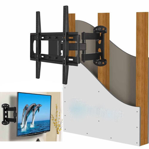 "Full Motion TV Wall Mount Bracket Holder Single Stud for 26-55/"" Samsung Vizio LG"