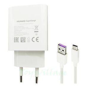 Huawei-02452310-Super-5A-Ladegeraet-AP81-USB-Typ-C-Ladekabel-Mate-10-P10-P20-Pro