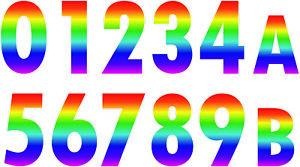 I numeri Arcobaleno