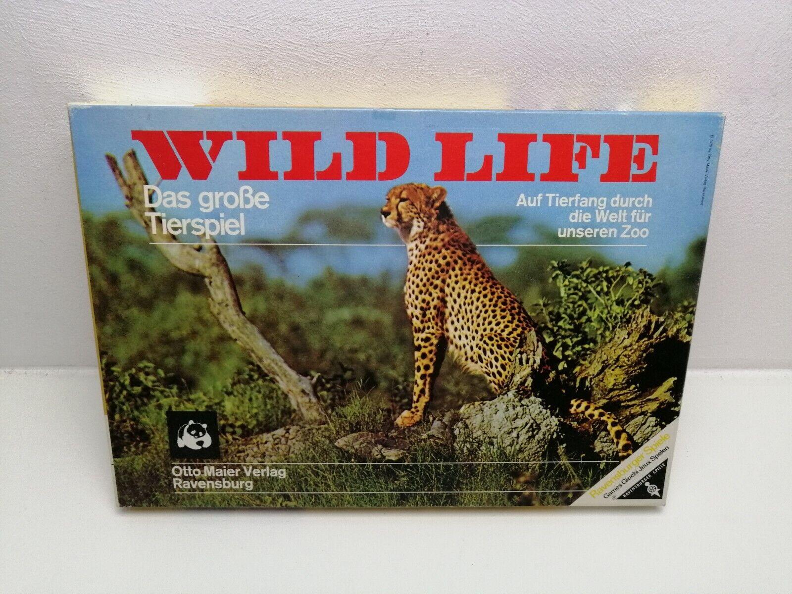 Wild Life von Ravensburger Brettspiel Klassiker Gesellschafts Familien Kinder