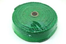 "HEAT WRAP TAPE CERAMIC FIBER EXHAUST MANIFOLD,2"" WIDTH, 2MM LENGTH 10M GREEN"