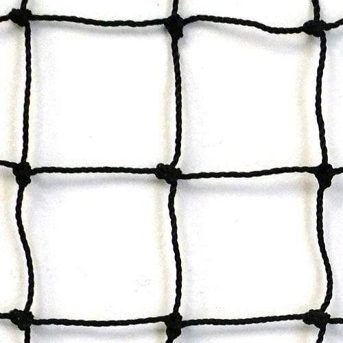 Softball  Barrier Net,Knotted Nylon 10/' X 50/' NEW! #36 Black Baseball