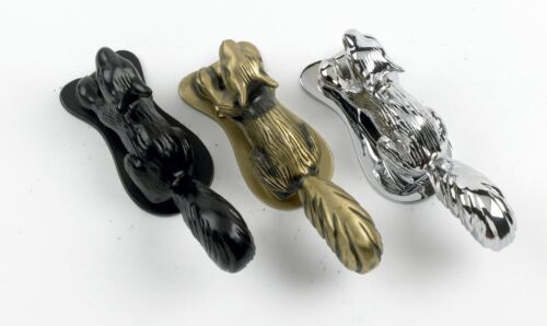 Running Squirrel Door Knocker in Four Finishes – Door Accessories