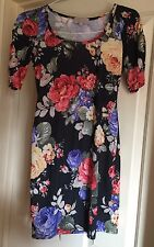 Be Beau Bodycon Floral Summer Dress, Size 10 - Fab!