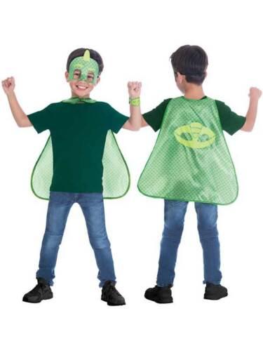 Kids PJ Masks Boys Girls Superhero Child Fancy Dress Cosplay Costume Outfit Set