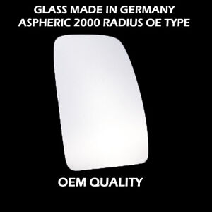 Right Hand Side Door Mirror Glass Convex For RNLT-Master II Year 1998 To 2003