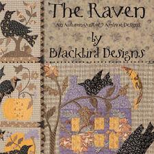 BOOK: The Raven: An Autumn Quilt of 9 Applique Designs by Blackbird Designs