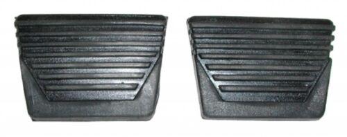 62-67 Chevy Nova /& Chevy II  Clutch /& Brake  Pedal Pad Set PAIR