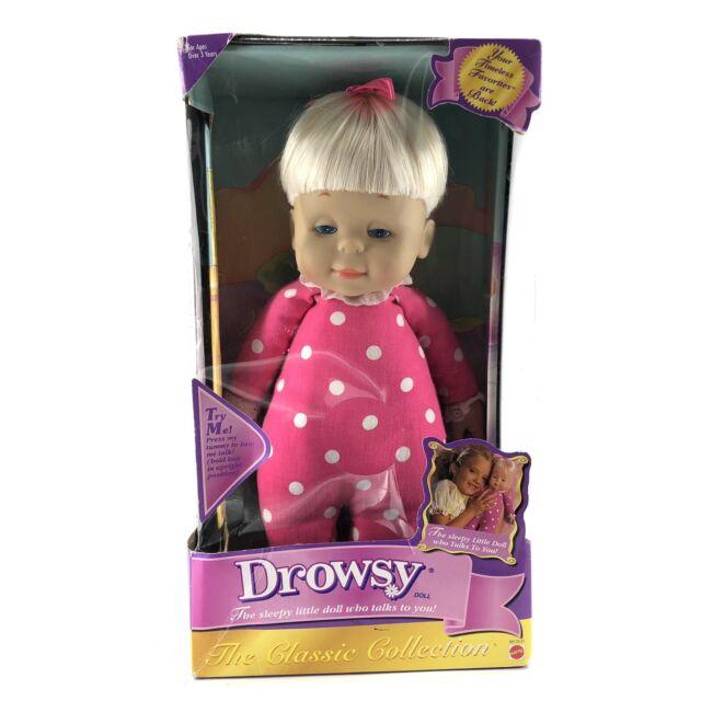 Drowsy Baby Girl Doll Mattel 15