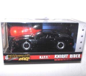 Knight-Rider-1982-Pontiac-K-I-T-T-1-32-Hollywood-Rides-NEU-OVP-Lizenzware