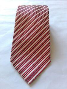 St-SAINT-ANDREWS-HAND-MADE-man-tie-cravatta-uomo-100-SILK-stile-Marinella-Kiton