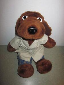 Vintage 1989 Mcgruff The Crime Detective Police Dog Stuffed Animal
