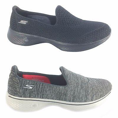 87245c94d214d Skechers Performance Women's Go Walk 4 Propel Walking Shoe Black 7 M ...