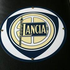 LANCIA Porcelain / metal Sign