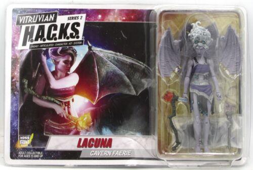 Vitruvian H.A.C.K.S.200102 Lacuna (Cavern Faerie) Winged Female Mage Boss Fight