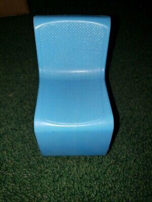 Details about  / 1973 Mattel Barbie  S Shaped Chair Blue  #7825-0050