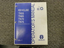 holland tn55 tn65 tn70 tn75 tractor operators manual ebay rh ebay com new holland tn 75 owners manual new holland tn75d repair manual