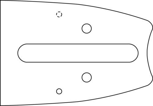 "1,6nut Schneidgaritur f Stihl motosierra espada 1 38cm 4 cadenas 0.325/"" 63 trgl"