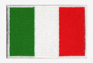 Ecusson-patche-patch-Italie-drapeau-Italien-70-x-45-mm-Pays-du-monde-brode