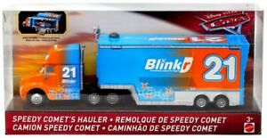 CARS-3-SPEEDY-COMET-039-S-HAULER-CAMION-Mattel-Disney-Pixar
