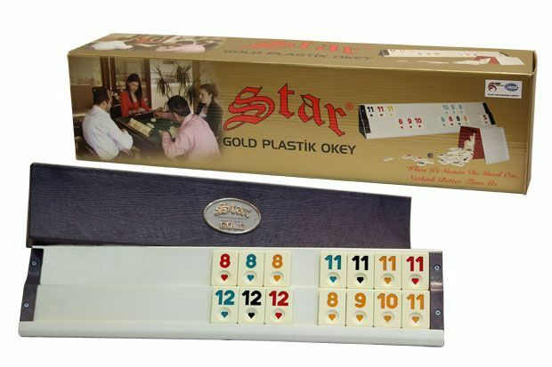 Rummikub - The Original Rummy Tile Game STAR - Rumy with tiles new in the box
