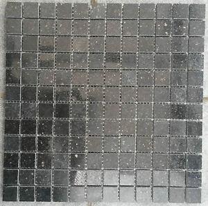 Details zu Granit Mosaik Matte Star Galaxy Schwarz 30x30 cm 8 mm  Matt-Poliert mix Fliesen